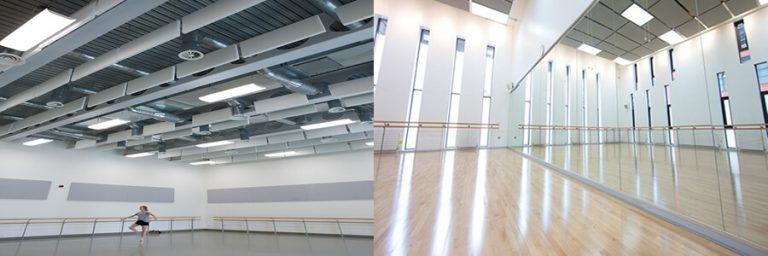 Adana dans salonu akustik ses yalıtımı