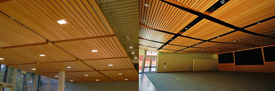 Üzeri delikli ve derzlidir. Duvarlarda veya tavanlarda kullanılan modelleri vardır. MDF ve Mdf-Lam ahşap paneller kullanılarak imal edilmektedirler.