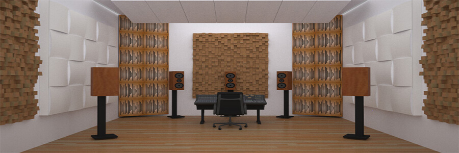 Akustik Difüzör paneller duvar ses yalıtımı için kullanılmaktadır ve kullanım alanları ise stüdyo, müzik odası, ofis, bateri odası, reji gibi mekanlarda daha çok tercih edilmektedir.
